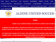 Tablet Preview of aldineunitedsoccerclub.org